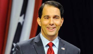 Wisconsin Republican Gov. Scott Walker is just one of many prominent members of the GOP who will be on hand for the First in the Nation Republican Leadership Summit starting Friday. (associated press)