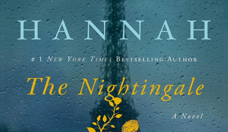 """This cover image released by St. Martins Press shows """"The Nightingale,"""" a novel by Kristin Hannah. (AP Photo/St. Martins Press)"""