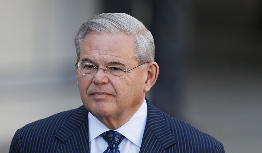 U.S. Sen. Bob Menendez. (AP Photo/Julio Cortez, File)