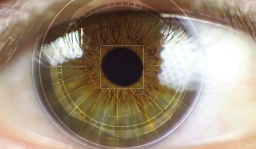 Researchers at Carnegie Mellon University College of Engineering have developed a long-distance eye scanner. (Image: CNN screenshot)
