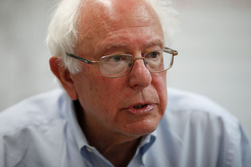Sen. Bernard Sanders, a Vermont independent who caucuses with the Democrats, is focusing on wealth disparity.
