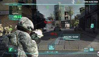 """Critics say that violent video games like """"Ghost Recon"""" and the """"Call of Duty"""" series often depict kidnappings, murdering civilians and torture as crucial to the gamer's missions. Military officials are hoping that future combat-style games can show the consequences of such actions as well as hew more closely to international standards."""