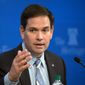 Republican presidential candidate Sen. Marco Rubio, Florida Republican. (Associated Press) ** FILE **