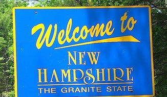 Hillary Clinton arrives in New Hampshire on Monday for two days of grass-roots campaigning. (Hollis1138)