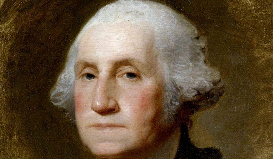 George Washington   From a portrait by Gilbert Stuart
