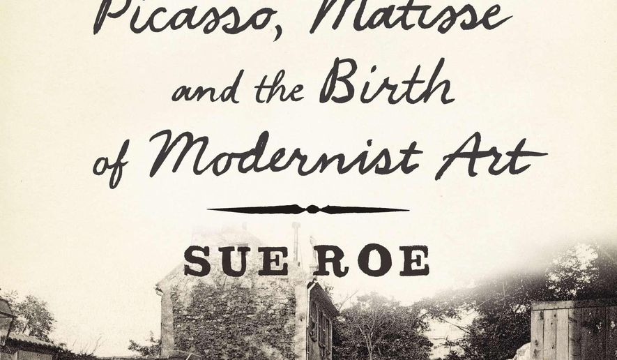 "This book cover image released by Penguin Press shows ""In Montmartre: Picasso, Matisse and the Birth of Modernist Art,"" by Sue Roe. (AP Photo/Penguin Press)"