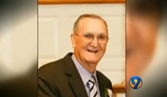 Larry Upright, 81, of Kannapolis, North Carolina. (Larry Upright via WSOC-TV)