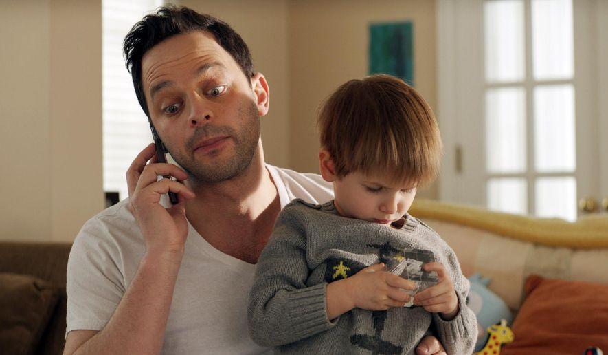 "In this image released by Radius-TWC, Nick Kroll appears in a scene from ""Adult Beginners."" (Radius-TWC via AP)"