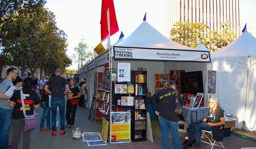LA Times book festival April 2015   by Ed Rampell/Special to The Washington Times
