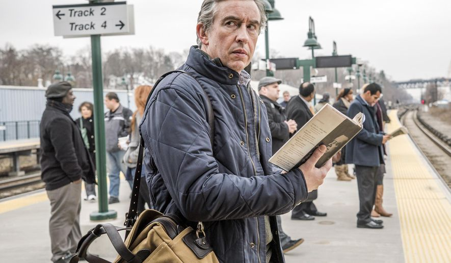 "HOLD FOR STORY - This photo provided by CBS shows, Steve Coogan, as Thom, in season 1 of the television series, ""Happyish.""  The show starring Coogan debuts April 26, 2015. (AP Photo/Showtime, Mark Schafer)"