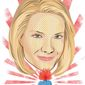 Illustration of Dana Perino by Linas Garsys/The Washington Times