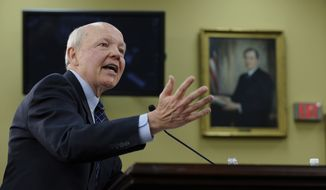 IRS Commissioner John Koskinen denied that his agency had singled out taxpayers' customer service for special reductions. (Associated Press)