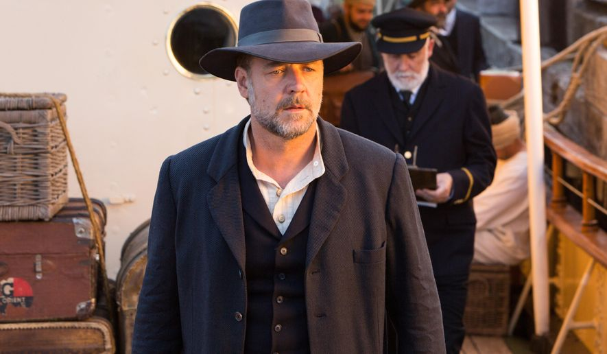 "This image released by Warner Bros. Pictures shows Russell Crowe in a scene from ""The Water Diviner."" (Mark Rogers/Warner Bros. Pictures via AP)"