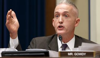 Rep. Trey Gowdy heads up the House Select Committee on Benghazi. (Associated Press) ** FILE **