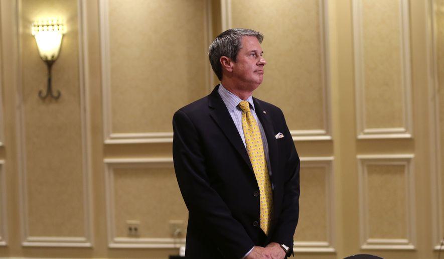 Sen David Vitter, Louisiana Republican (Associated Press) ** FILE **