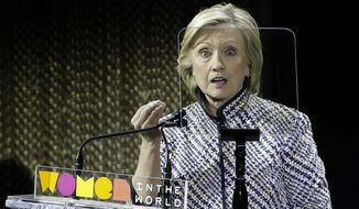 Scrutiny of foreign money swirling around Hillary Rodham Clinton, including skyrocketing speaking fees paid to her husband, former President Bill Clinton, and megadonations to their charitable foundation after she became America's top diplomat, will only intensify and dog her on the campaign trail. (Associated Press)