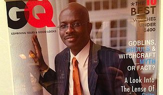 'Right Side Forum' host Armstrong Williams. (GQ Magazine)