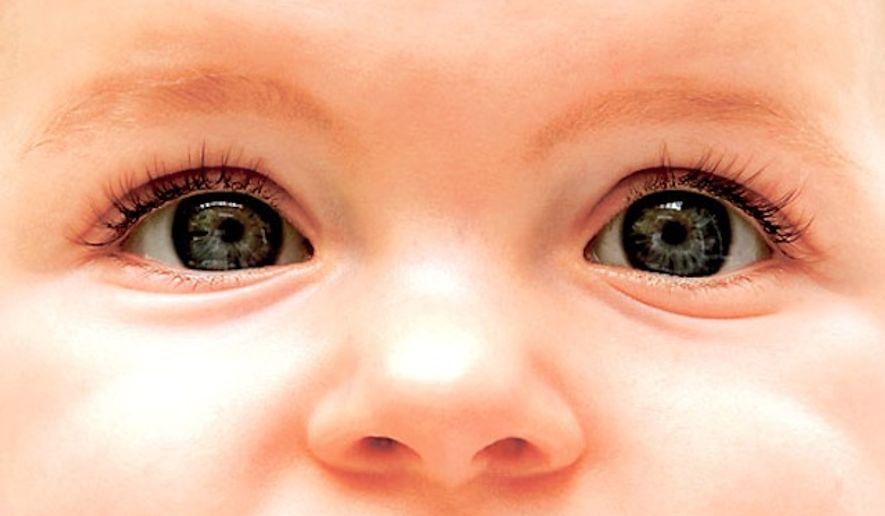 A baby's gaze (AP Photo)