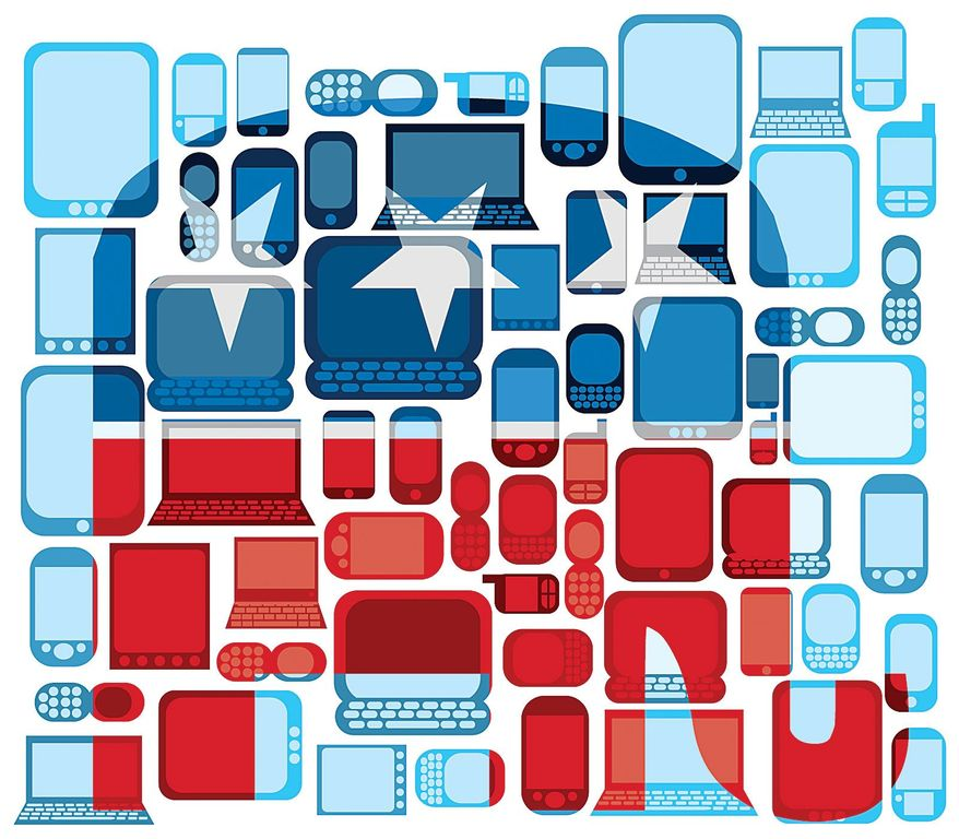Illustration on innovative campaigning for the GOP in 2016 by Linas Garsys/The Washington Times