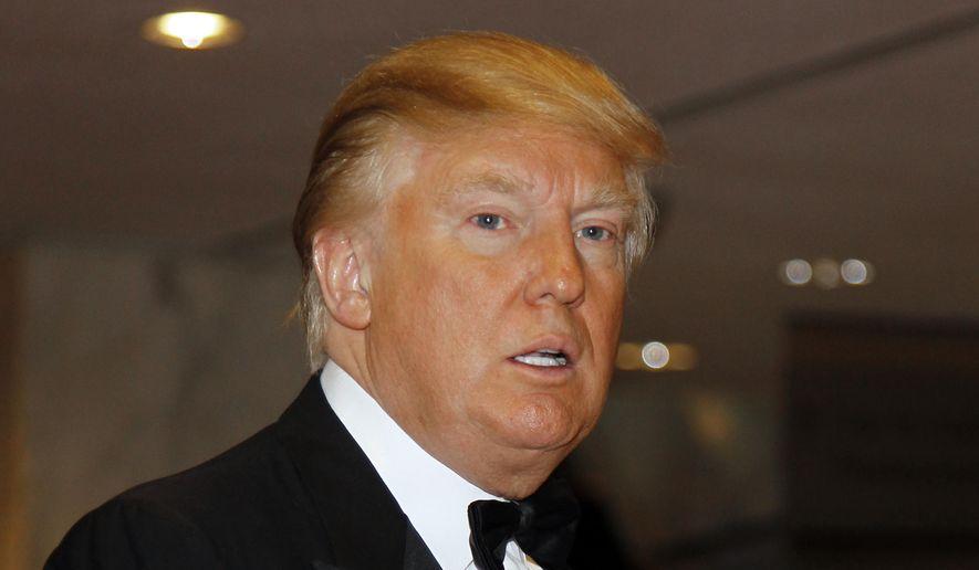 President Trump. (Associated Press) ** FILE **