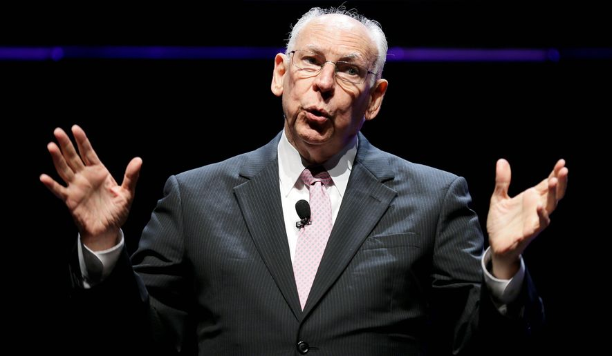 Rafael Cruz, Sen. Ted Cruz' father, has been a fixture on the campaign trail as the younger Cruz seeks the Republican presidential nomination. (Associated Press)