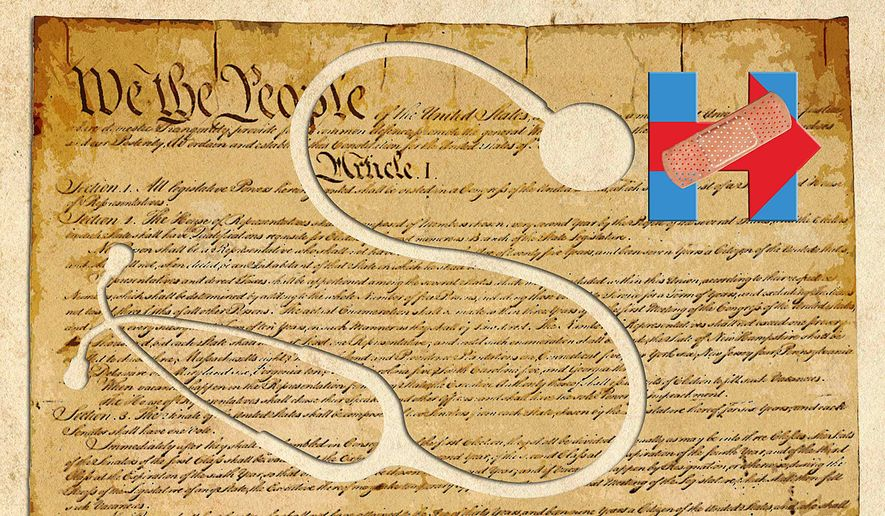 Hillary's health and our right to know illustration by Greg Groesch/The Washington Times