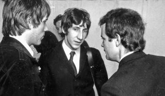 Left to Right: Chris Stamp, Pete Townshend and Kit Lambert