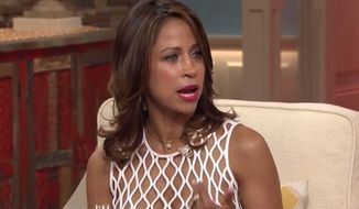 "Actress and Fox News contributor Stacey Dash isn't backing down following comments she made about the gender pay gap that made for a testy exchange on Wednesday's episode of ""The Meredith Viera Show."" (YouTube/ The Meredith Vieira Show)"