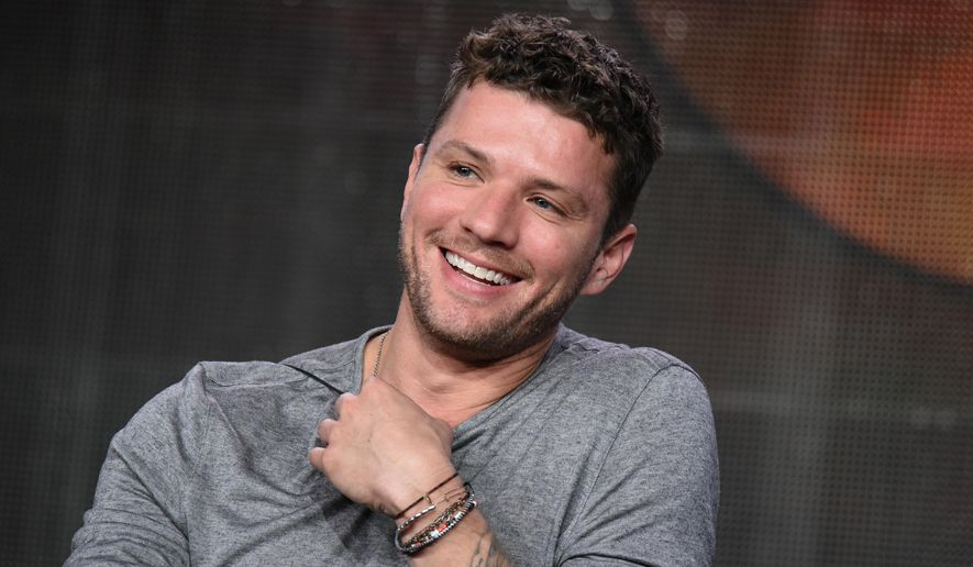 "FILE - In this Jan. 14, 2015 file photo, Ryan Phillippe speaks on stage during the ""Secrets And Lies"" panel at the Disney/ABC Television Group 2015 Winter TCA in Pasadena, Calif. Phillippe stars in the new ABC mystery drama which has its season finale on Sunday, May 3, 2015, at 9 p.m. EDT. (Photo by Richard Shotwell/Invision/AP, File)"