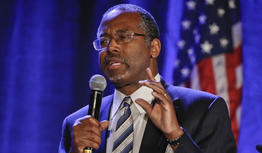 Ben Carson plans to assemble an all-star team of corporate and economic experts after his announcement Monday to help him devise specific, detailed, goal-oriented plans to reshape and resize government, trim costs and create a more fair tax system. (Associated Press)
