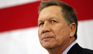 Ohio Gov. John Kasich has called out fellow Republicans for seemingly turning their backs on the Common Core educational standards after wholeheartedly advocating them years ago. (Associated Press)