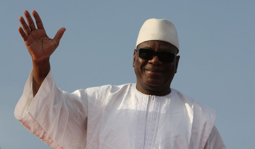 Only 14 women currently sit in Mali's 147-member parliament, three women belong to President Ibrahim Boubacar Keita's Cabinet of 33 ministers, and men claim the vast bulk of civil service positions. (Associated Press)