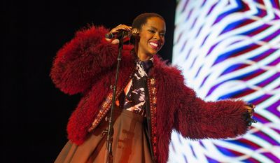 Lauryn Hill performs at the Voodoo Music Experience in New Orleans on Nov. 1, 2014. (Barry Brecheisen/Invision/Associated Press) **FILE**