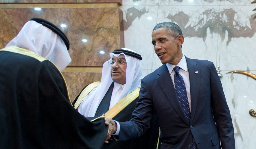 The Obama administration is quietly negotiating weapons deals with the Saudia Arabian kingdom, which is wary of a deal between the U.S. and Iran over nuclear weapons. (Associated Press)