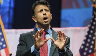 Louisiana Gov. Bobby Jindal has declared his intent to run for the White House. (AP Photo/Nati Harnik, File)