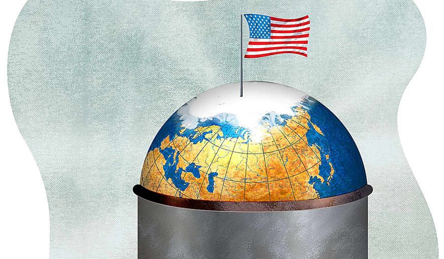 Securing Arctic energy resources illustration by Greg Groesch/The Washington Times
