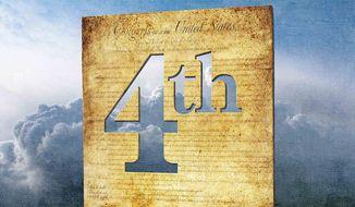 The Fourth Amendment (Illustration by Greg Groesch/The Washington Times