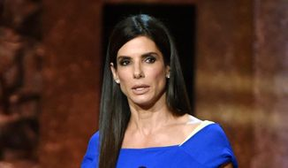 Sandra Bullock speaks at the 42nd AFI Lifetime Achievement Award Tribute Gala in Los Angeles in this June 5, 2014 file photo. (Photo by John ShearerInvision/AP, File)