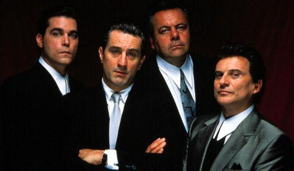 Ray Liotta, Robert De Niro, Paul Sorvino and Joe Pesci star in GoodFellas: 25th Anniversary Edition, now on Blu-ray. (Courtesy of Warner Home Video)