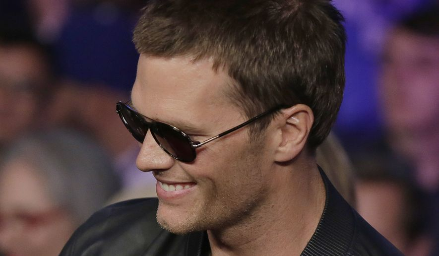 """Tom Brady spoke Thursday night at a previously scheduled question-and-answer session at Salem State University with journalist Jim Gray. Mr. Brady entered the room to a standing ovation from an audience that he described as being """"like a Patriot pep rally."""""""
