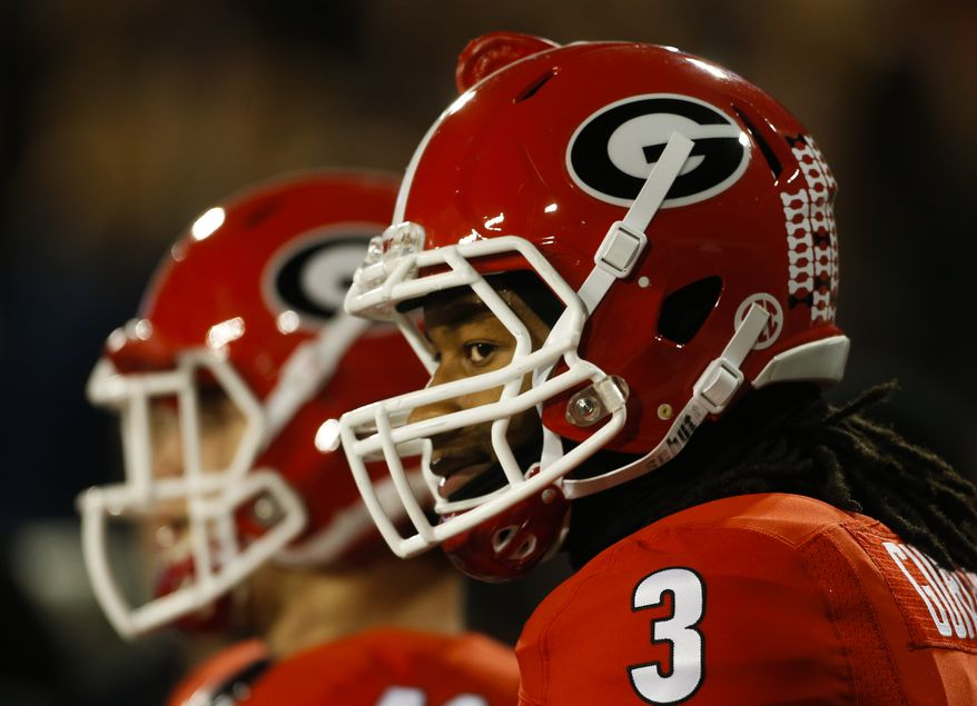 Todd Gurley may never need to sell another autograph - the St. Louis Rams chose him as the 10th overall pick in the NFL draft last week, so his contract will be in the millions. (Associated Press)