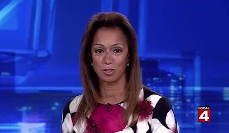 WDIV anchor Carmen Harlan is facing backlash after she appeared to make a connection between Michigan's large Arab community and claims that the Islamic State is operating in several states in the U.S. (WDIV)