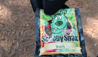Scooby Snax, a Synthetic Cannabinoid. (Facebook: AACoPD)