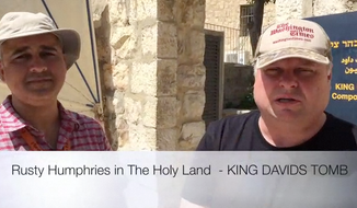 Rusty Humphries King David's Tomb video