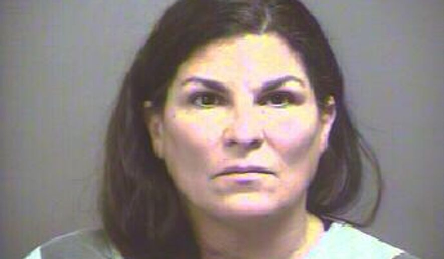 This undated photo provided by the Blount County Sheriffs Office shows Sylvia Hofstetter.  Federal prosecutors say the 51-year-old Florida native was running the largest illicit drug operation in the history of east Tennessee: a string of pill mills that raked in $17.5 million in four years.  (Blount County Sheriffs Office via AP)