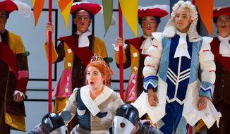 "The Washington National Opera's ""La Cenerentola"" features four notable opera companies and a talented international cast. (Washington National Opera)"