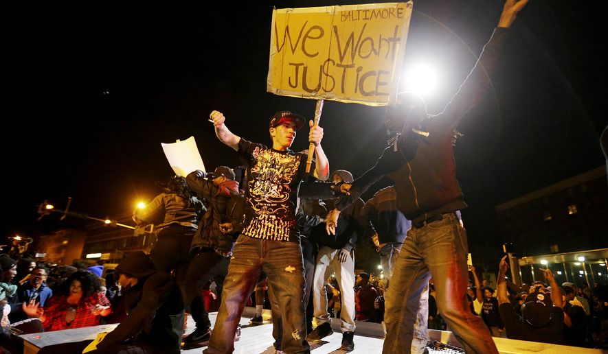 In Baltimore's Eastern district, more than 10 percent of black men are murdered before the age of 35, according to an analysis of crime and census data from 2003 to 2006. Few, if any, of those deaths received a fraction of the attention accorded the Gray case and other police-caused deaths. (Associated Press)