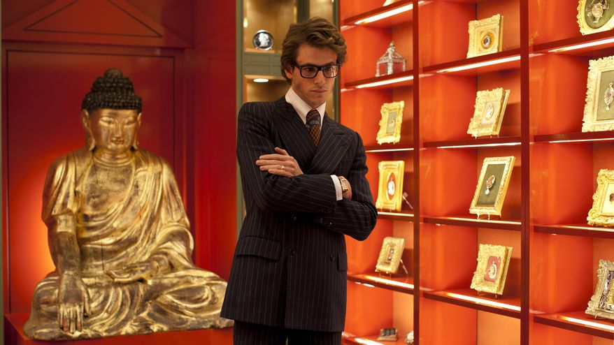 """In this image released by Sony Pictures Classics, Gaspard Ulliel portrays Yves Saint Laurent in the film, """"Saint Laurent."""" (Mandarin Cinema-EuropaCorp-Orange Studio-Arte France Cinema-Scope Pictures/Sony Pictures via AP)"""