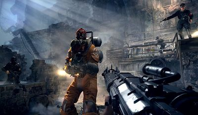 It's time for B.J. Blazkowicz  to hurt some Nazis in the first-person shooter Wolfenstein: The Old Blood from Bethesda Softworks and MachineGames.