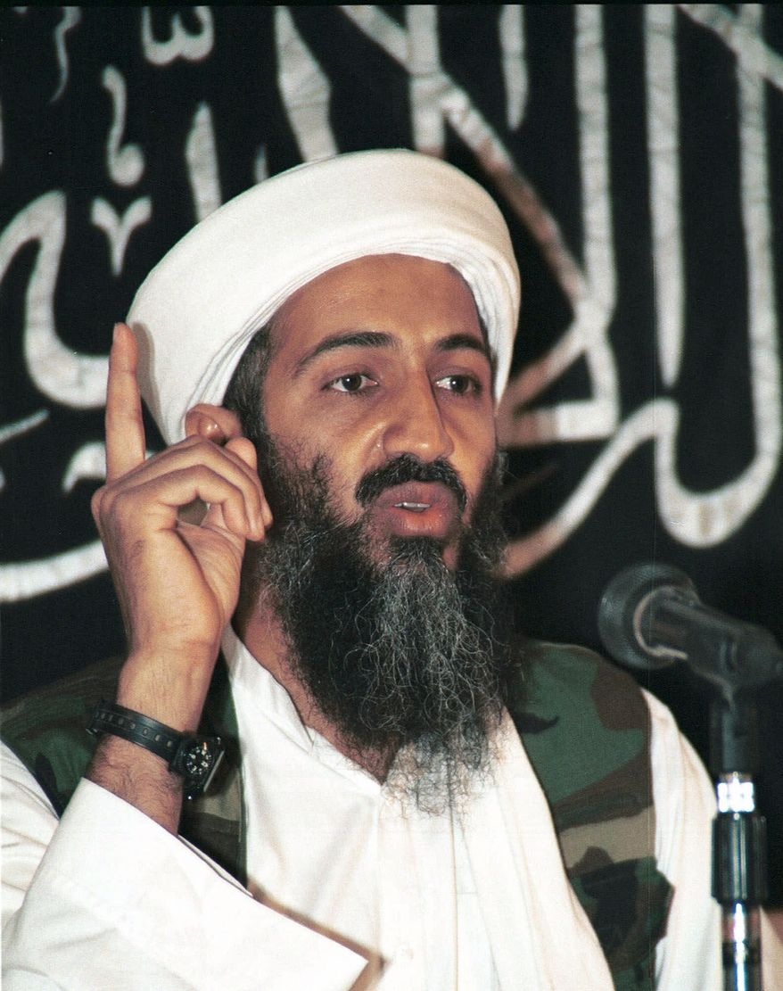 The U.S. government's assertion that Osama bin Laden's courier tipped off the CIA about the location of the terrorist leader's Abbottabad compound was a cover story to protect the Pakistani official that actually provided the information, a Special Forces operator told NBC News. (Associated Press)